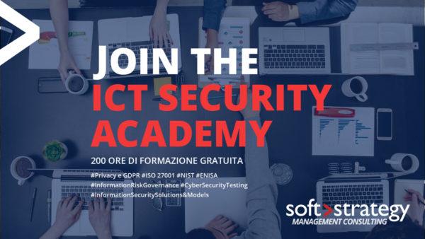 ICT Security Academy 2018: aperte le iscrizioni alla terza edizione