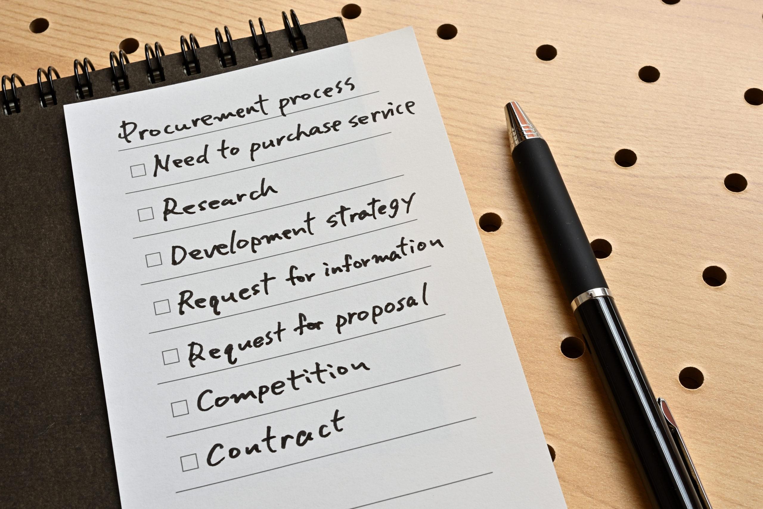 Procurement Model Design