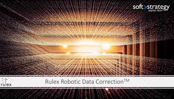 Robotic Data Correction™: l'intelligenza artificiale di Rulex e Soft Stratgey